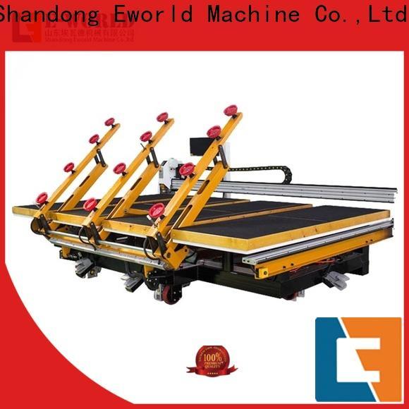 Eworld Machine high reliability semi automatic glass cutting machine factory for machine