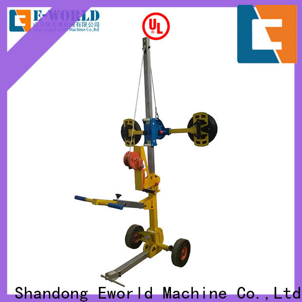 Eworld Machine curved glass trolley lifter terrific value for industry
