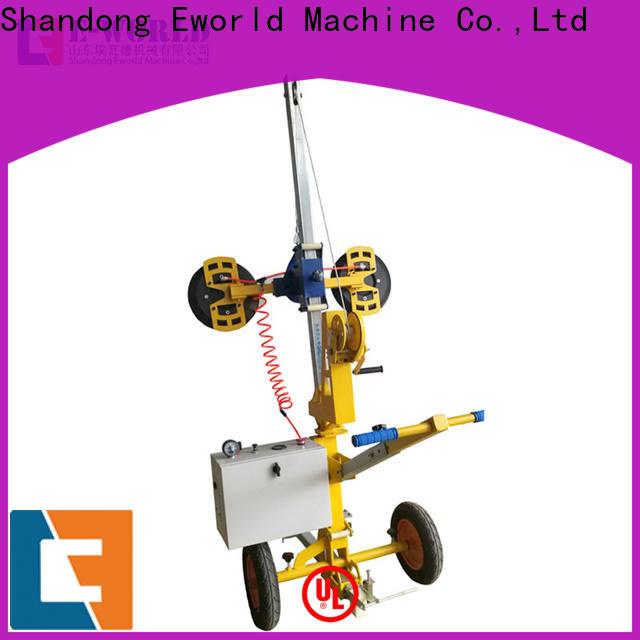 Eworld Machine standardized glass vacuum lifter price supply for distributor