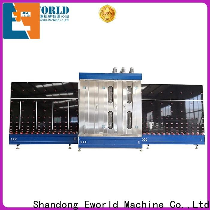 Eworld Machine open high speed glass washer for business for manufacturing