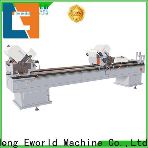 Eworld Machine simple upvc window fabrication machinery supply for manufacturing