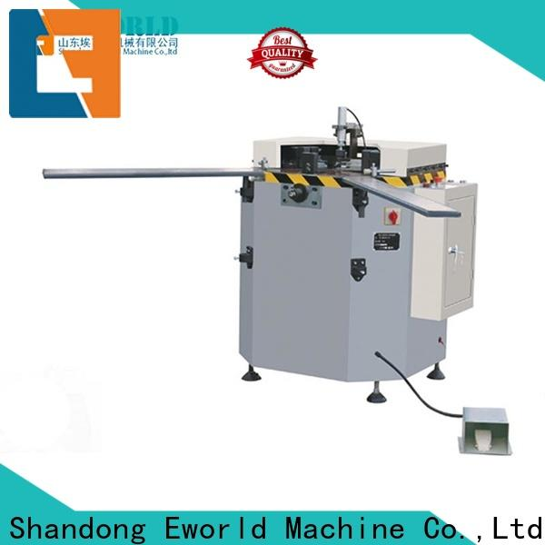 Eworld Machine high-quality aluminum window making machine company for manufacturing