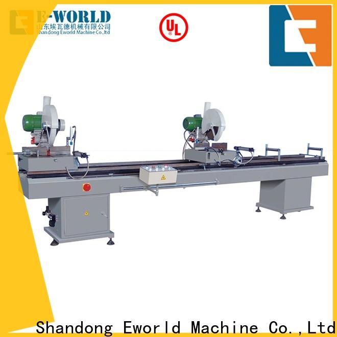 Eworld Machine professional upvc windows doors equipment factory for manufacturing