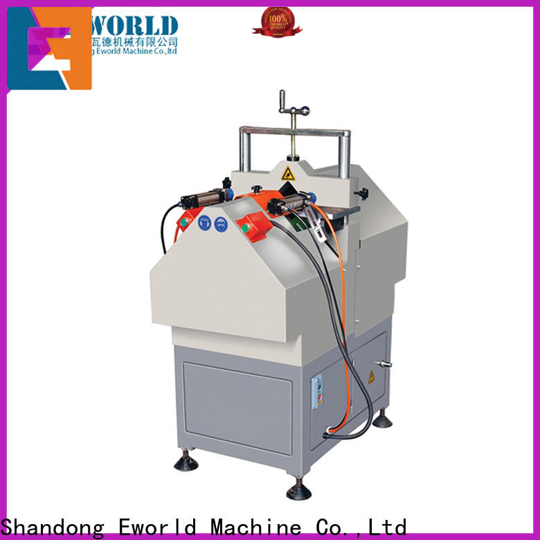 Eworld Machine cutting upvc welding machine china order now for manufacturing