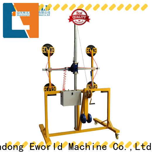Eworld Machine customized glass trolley lifter manufacturers for distributor