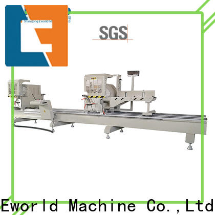 Eworld Machine technological aluminum window punching machine supply for industrial production