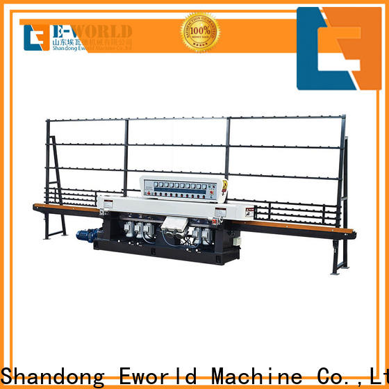 Eworld Machine custom glass double edger machine factory for industrial production