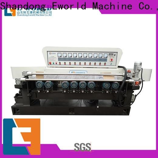 Eworld Machine fine workmanship glass edge grinding machine suppliers for manufacturing
