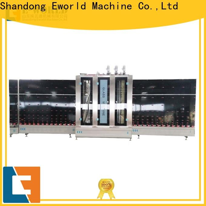 Eworld Machine glass glass glazing machine factory for commercial industry
