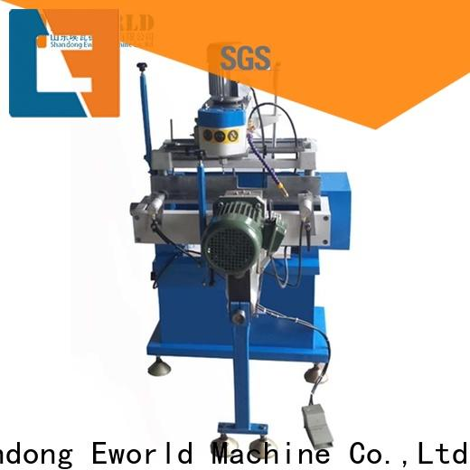 Eworld Machine wholesale pvc window miter saw company for industrial production