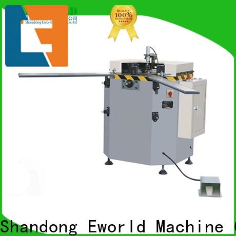 Eworld Machine high-quality aluminum window end milling machine suppliers for global market