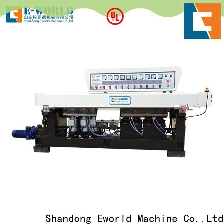 Eworld Machine custom glass edge processing machine manufacturers for global market