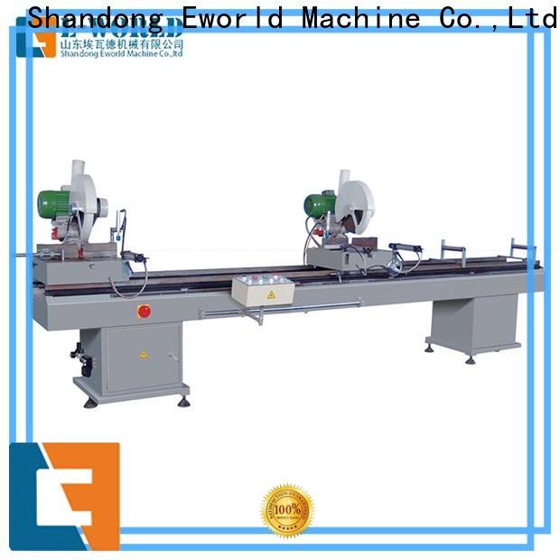 Eworld Machine doorwindow pvc door machine suppliers for industrial production
