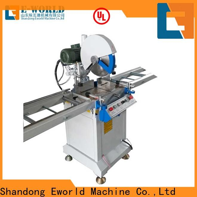 Eworld Machine operation upvc window manufacturing equipment for business for importer