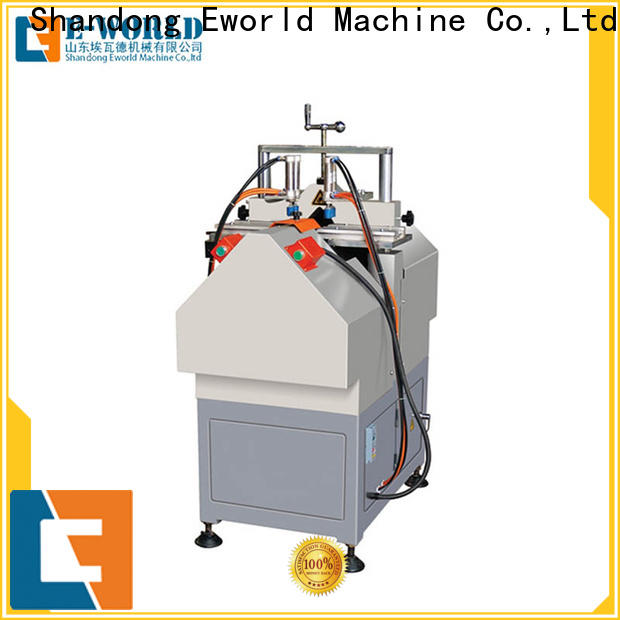 Eworld Machine head pvc door making machine supply for industrial production