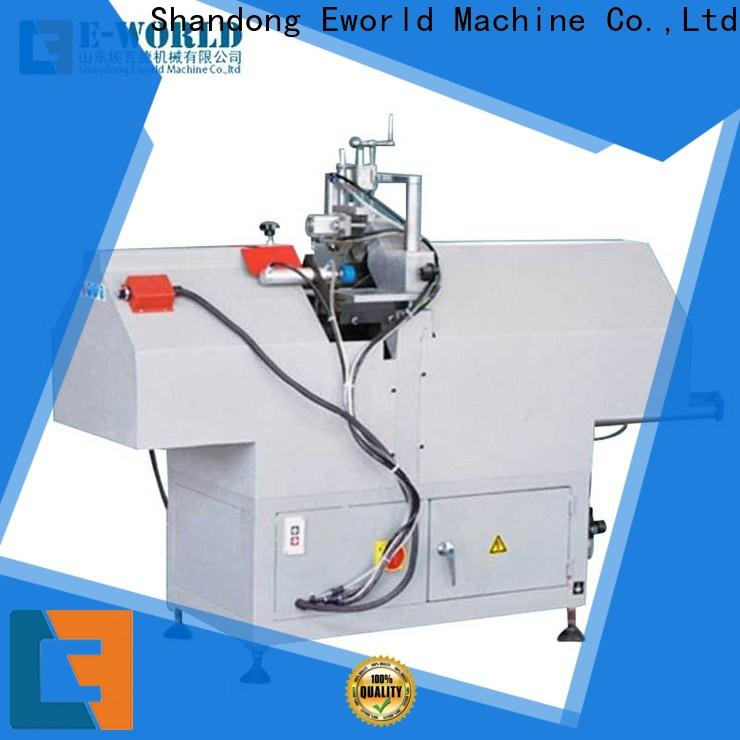 Eworld Machine best pvc window fabrication machine order now for industrial production