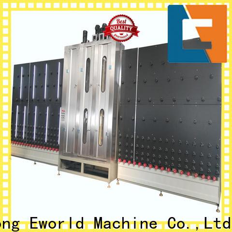 Eworld Machine horizontal automatic glass washing machine international trader for manufacturing
