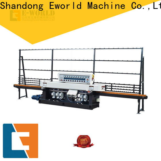 Eworld Machine edge glass grinding machine OEM/ODM services for global market
