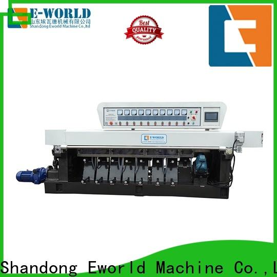 Eworld Machine custom glass edging machine for sale company for industrial production