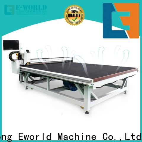 Eworld Machine tilting automatic glass cutting table foreign trader for machine