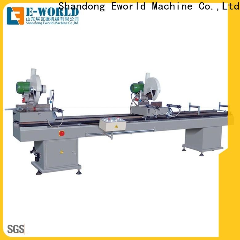 Eworld Machine head upvc window machinery for sale manufacturers for industrial production