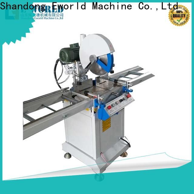 Eworld Machine custom upvc welding machine manufacturers for industrial production