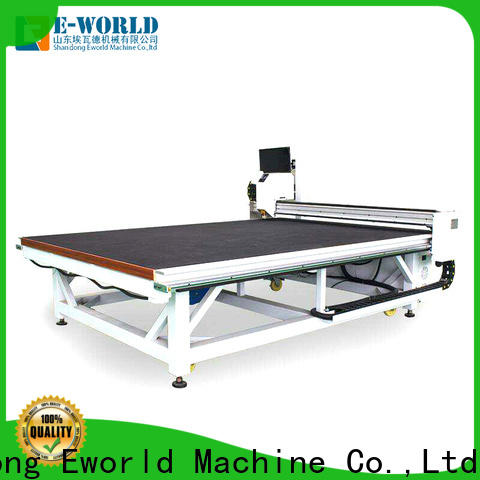 Eworld Machine good safety small glass cutting machine supply for industry