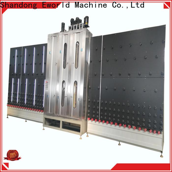 Eworld Machine wholesale horizontal glass washing and drying machine supply for manufacturing