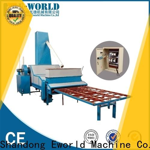 Eworld Machine automatic furniture glass sandblasted machine factory for manufacturing
