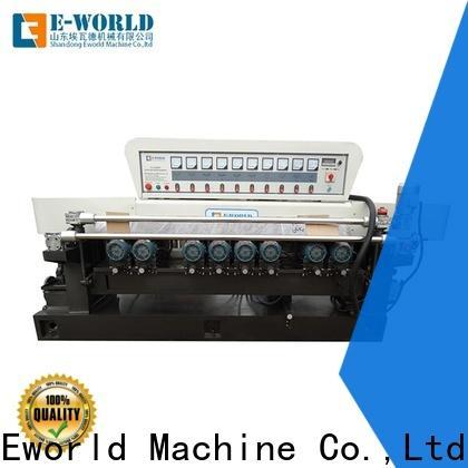 Eworld Machine straight small glass edge polishing machine manufacturers for global market