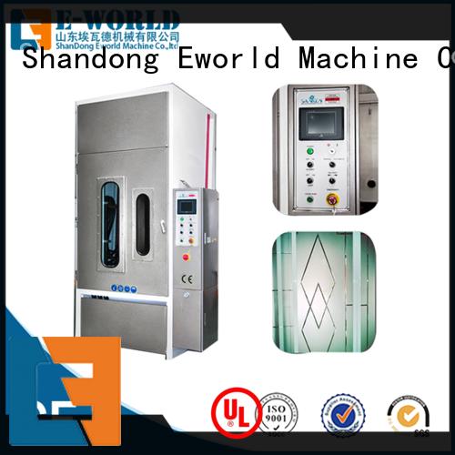sandblasted furniture glass sandblasted machine from China for manufacturing