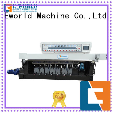 Eworld Machine technological glass beveling machine for sale manufacturer for manufacturing