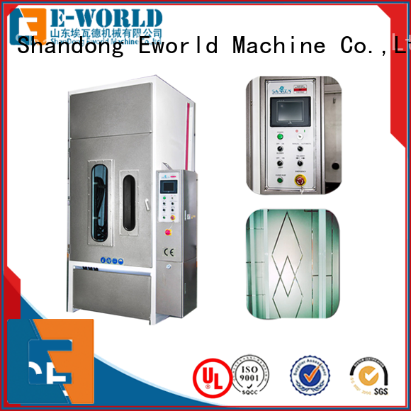 low moq automatic glass sand blasting machine manual from China for industry