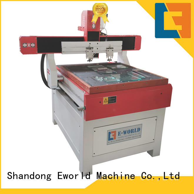 Eworld Machine stable performance glass cutting machine dedicated service for sale