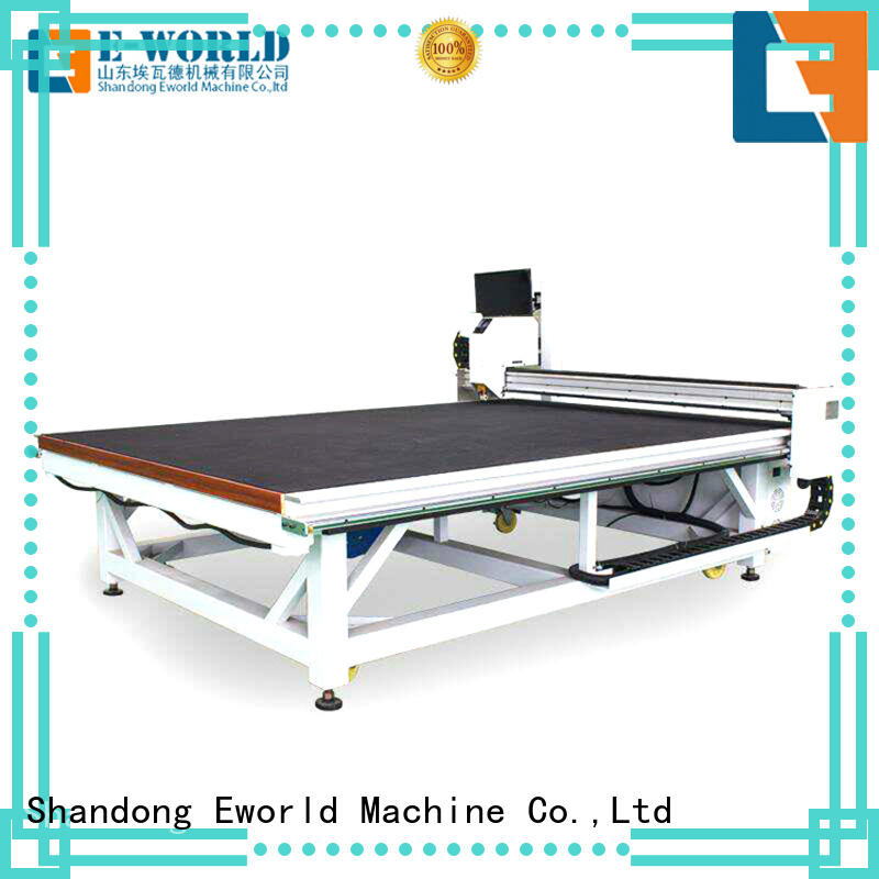 Eworld Machine automatic glass cutting tilting table exquisite craftsmanship for industry