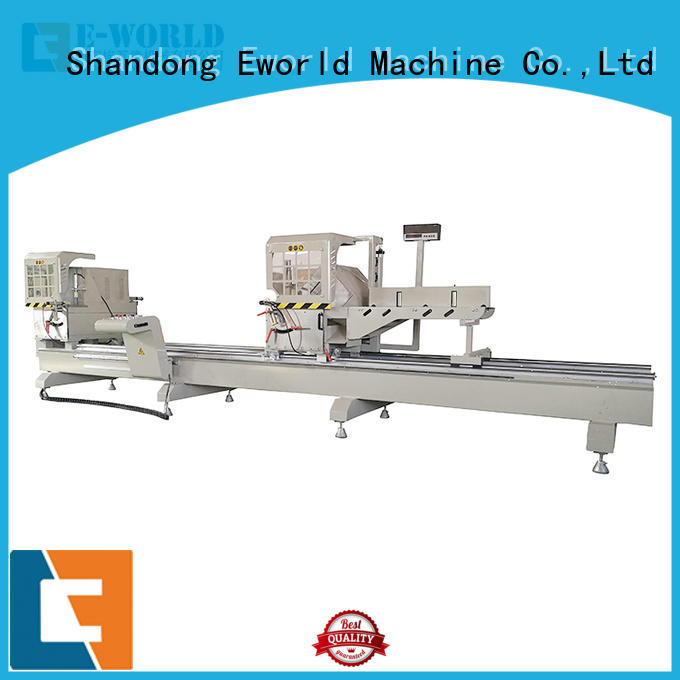 Eworld Machine trade assurance upvc and aluminum window machine OEM/ODM services for industrial production