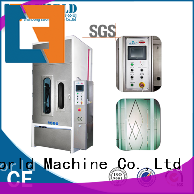 Eworld Machine glass glass sand blasting machine factory price for industry