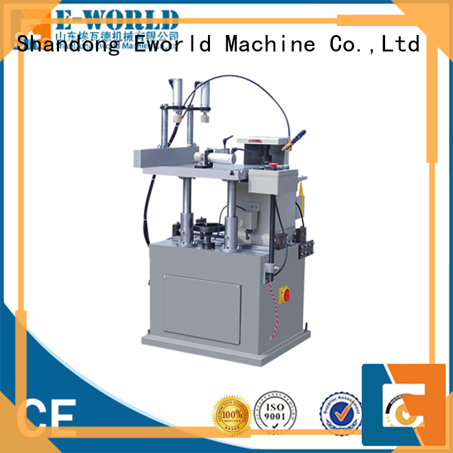 Eworld Machine technological aluminium window crimping machine OEM/ODM services for global market