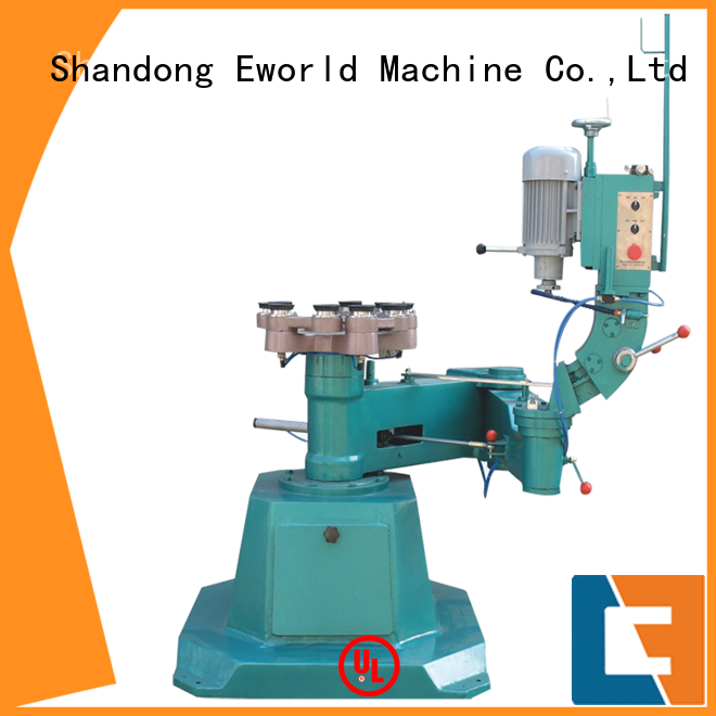 Eworld Machine technological small glass beveling machine manufacturer for industrial production