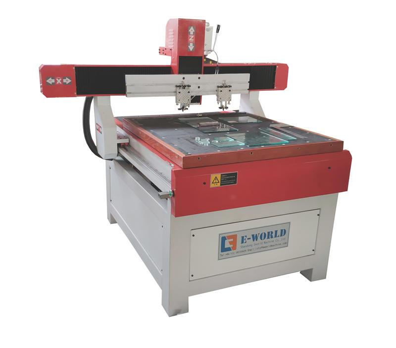 Arc Glass Round Glass Cutting Machine