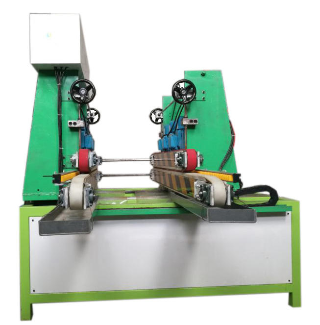 Double side small size glass edging and polishing machine