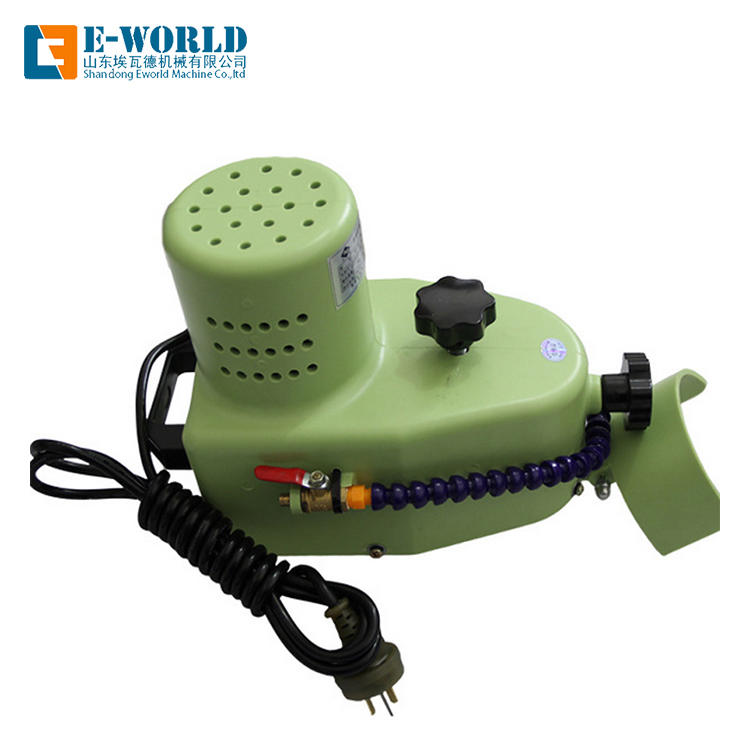 Portable small glass edging machine