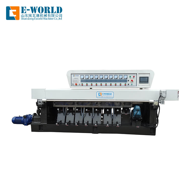 Straight line Glass pencil edging machine