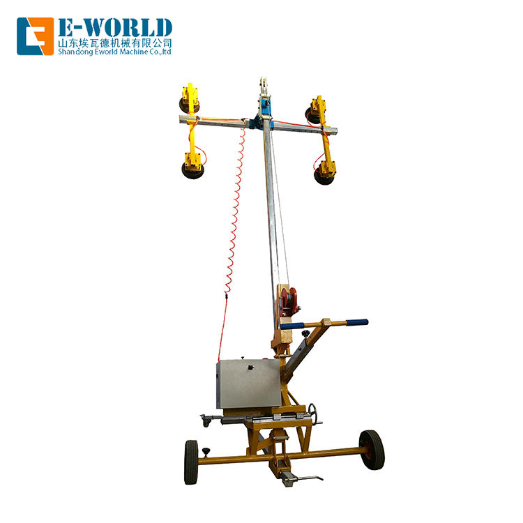 Vacuum heavy glass transport lifting equipment