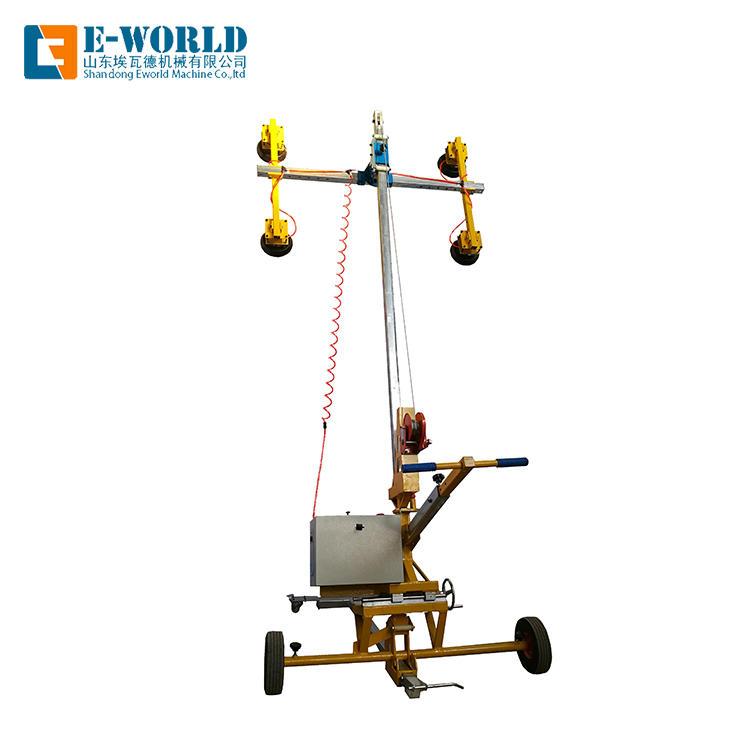 Vacuum heavy glass transport lifting equipment