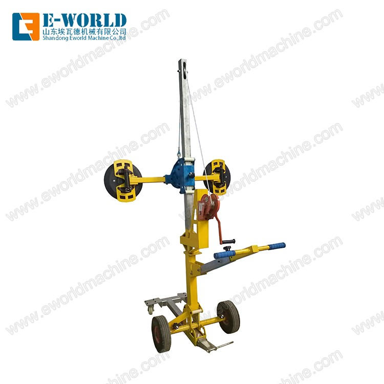 Portable Glass  Movable handling Lifter