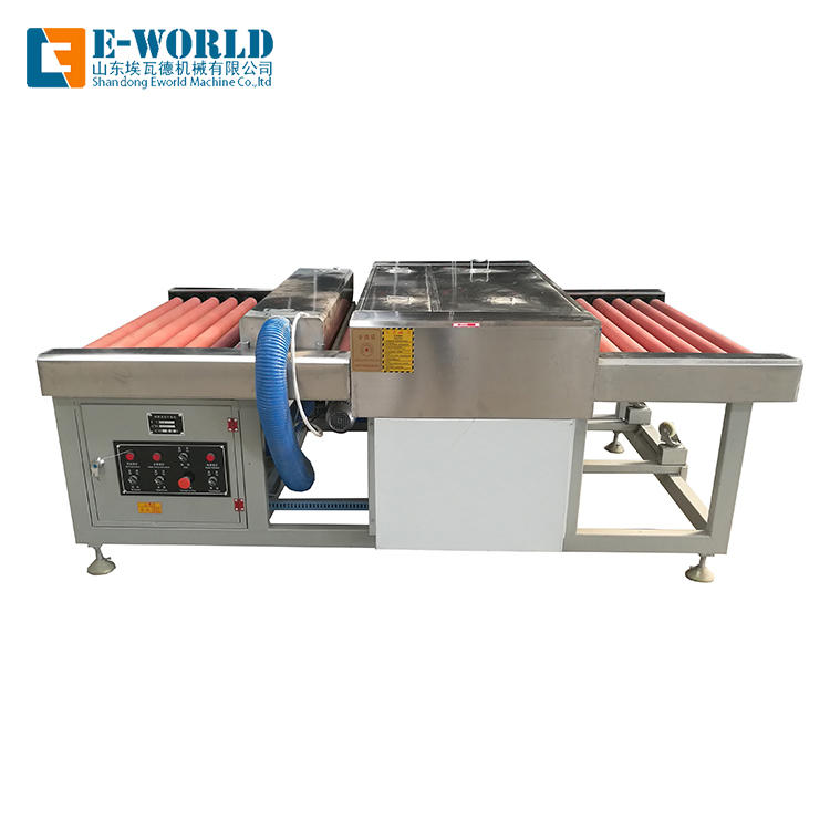 Horizontal Glass washing and drying machine