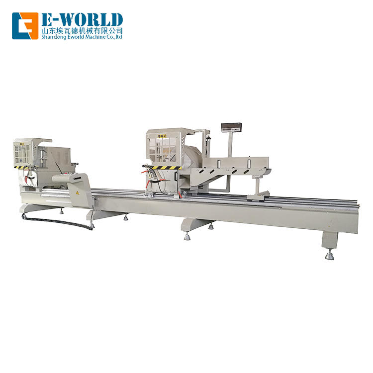 Aluminum windows double head miter saw