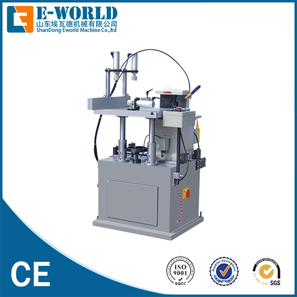 Eworld Machine trade assurance aluminium window crimping machine supplier for global market