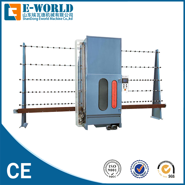 Eworld Machine manual horizontal glass sandblasting machine factory price for industry-1